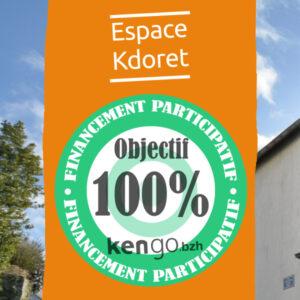 Objectif 100% sur kengo.bzh - Espace Kdoret